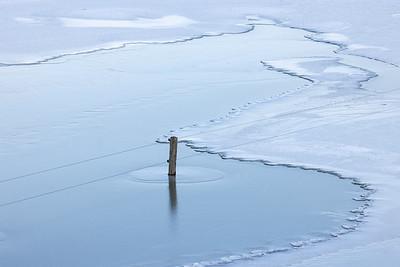 Winters hoogwater