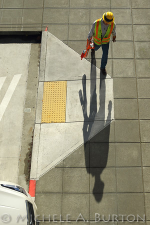 Casting a long shadow  Composition Lighting Perspective