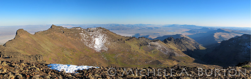 View from Steens Summit, Oregon