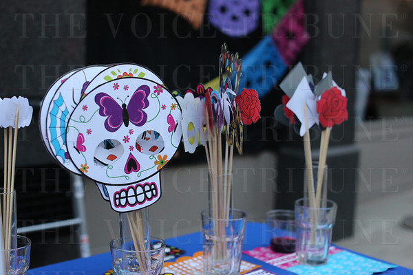 Day of the Dead Celebration items which were for sale.