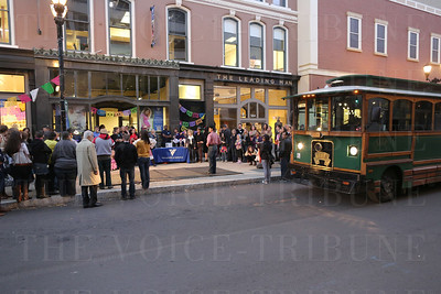 "Trolley hop ""Day of the Dead Celebration""; South 4th Street District."
