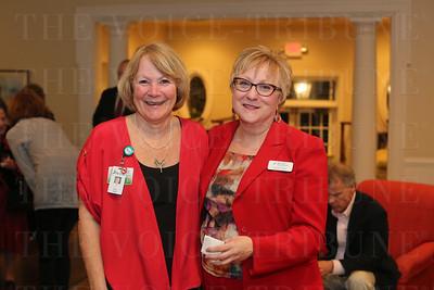 Susan Hinkle and Brenda Elkins.