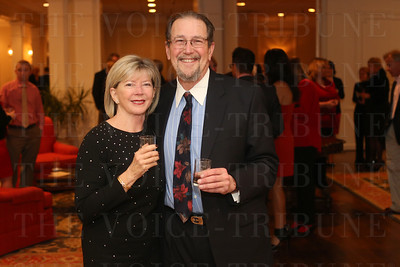 Donna Smith and Dr. Richard Edelson.