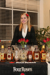 Taylor Fiske worked the Four Roses table.