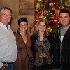 Rick, Jenny and Melissa Milby with Greg Dunn.