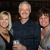 Kathy and Mike Smithers with Sandy Hood.