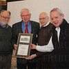 Rick Dell, John Kleber, Allan Steinberg and Rev. Clyde Crews. John Kleber receiving the 2013 Founder's Award.