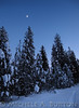 Skiing at Sunset in 15 degree weather at Geophysical Sno Park - Newport, WA