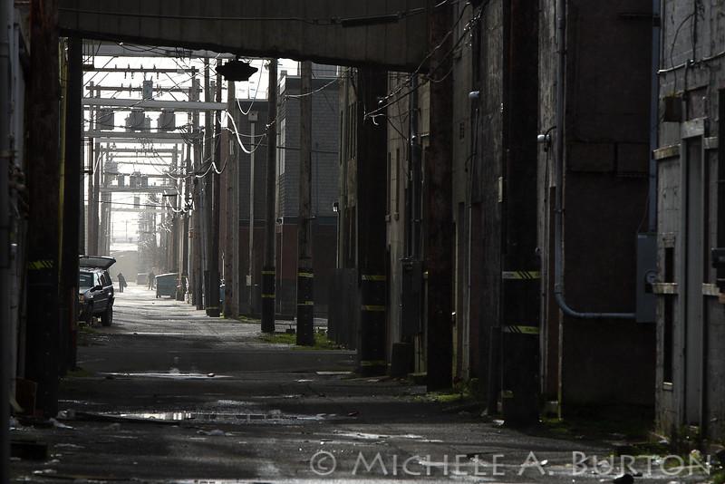 """Aberdeen Alley  Aberdeen, WA <a href=""""http://micheleburton.blogspot.com/2013/02/photo-of-week-february-16-2013.html"""">February 16, 2013</a>"""