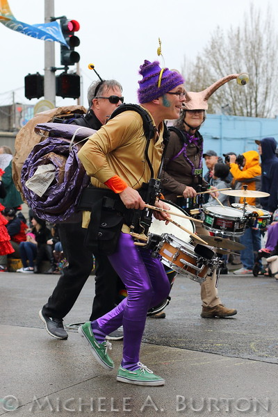 "Artesian Rumble Arkestra (aka Slime Time) plays during the 2017 Procession of the Species<br /> <br /> more photos at <a href=""http://www.micheleburton.com/Other/Procession-of-the-Species-Olympia-2017/"">http://www.micheleburton.com/Other/Procession-of-the-Species-Olympia-2017/</a>"