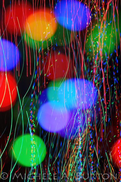 Christmas Light Double Exposure<br /> <br /> December 11, 2014