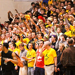 The St. X Student Body, cheered on their team.