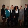 Laura Douglas, Lynnie Meyer, Angela McCormick Bisig, Dana Jackson, Laura Snyder and Tori Murden McClure.