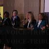 Laura Snyder, Laura Douglas, Tori Murden McClure, Angela McCormick Bisig, Lynnie Meyer and Dana Jackson.