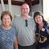 Marylee Wessel and Jeff Adams with St. Joseph's Home's Executive Director Pam Cotton.