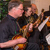 Members of the Louisville Mandolin Orchestra entertained.