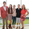 Steven and Julie Guenthner with Elise, Kenny and Lauren Gibson.
