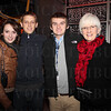 Erin Leonard, Ben Ivers and Brian and Josee Leonard.