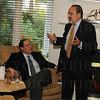 Rabbi Robert Slosberg and David Lissy.