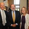 Roy Goldman, David Lissy and Georgia Goldman.