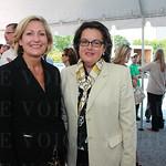 Rosann Tafel and Carla Cates.