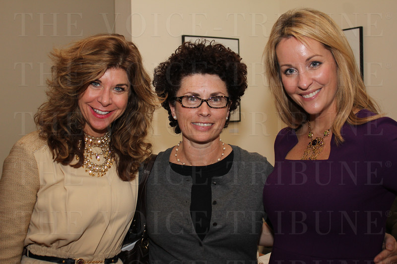 Dianne Timmering, Carol Zindler and Alicia Heazlitt.