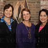 Inaugural event guest speakers, Mary Zappone of RecoverCare, Lara MacGregor of Hope Scarves, and Debra Gmelin of Humana.