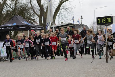 start van de kids run 1,5 km