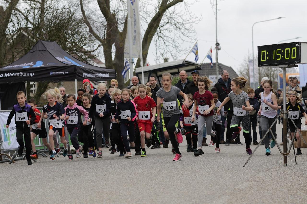 start van de kids run 1,5 km