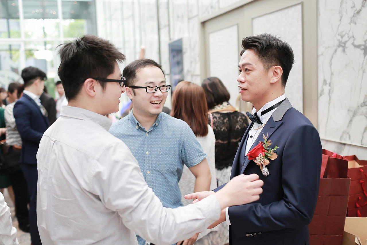 《台北婚攝》婚禮中的幸福感動 / 白金花園酒店