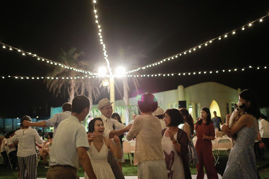 《墾丁婚攝》以愛為名的戶外婚禮 / 洋老院民宿