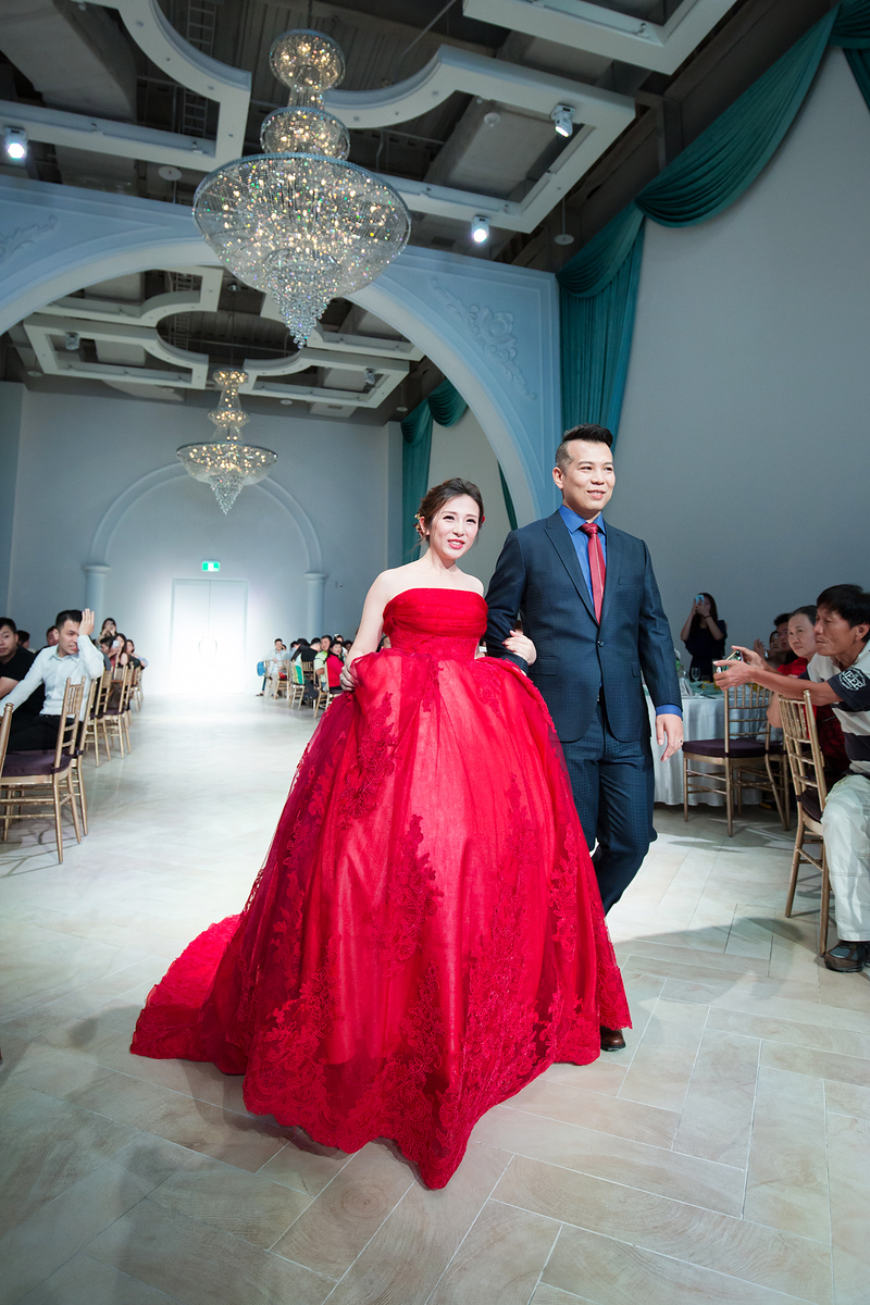 《桃園婚攝》 唯美就在最幸福的時刻 / 彭園婚宴會館-八德館