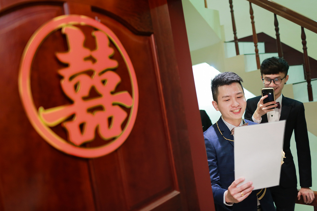 《新竹婚攝》幸福就是牽著妳的手 / 港南運河濱海風景區餐廳