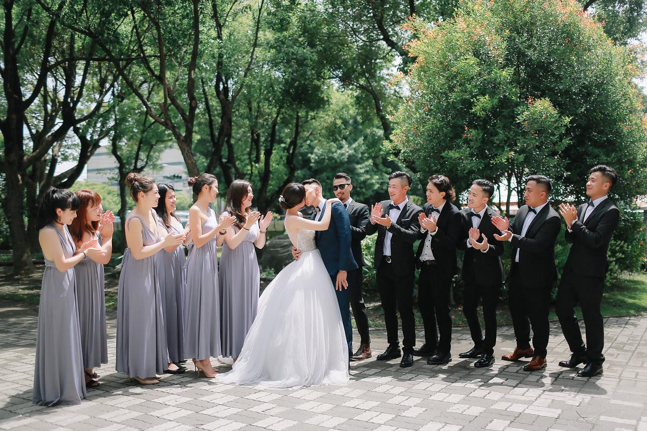 《屏東婚攝》早儀式午宴客 / 東港戶外婚禮盧山囍宴會館