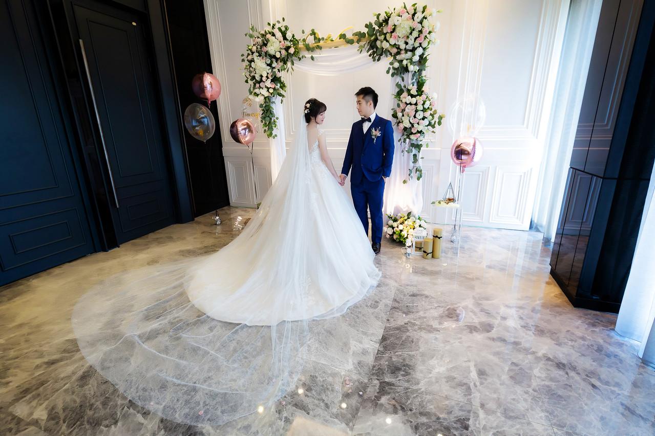 《台中婚攝》我的典雅西式婚禮 / 萊特薇庭飯店式宴會廳