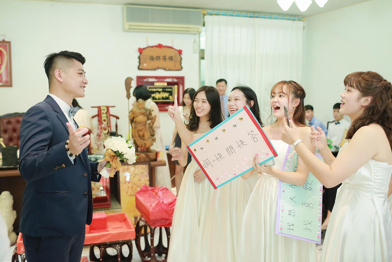 《台北淡水婚攝》早儀式晚宴客 / 淡水福容大飯店類婚紗闖關迎娶