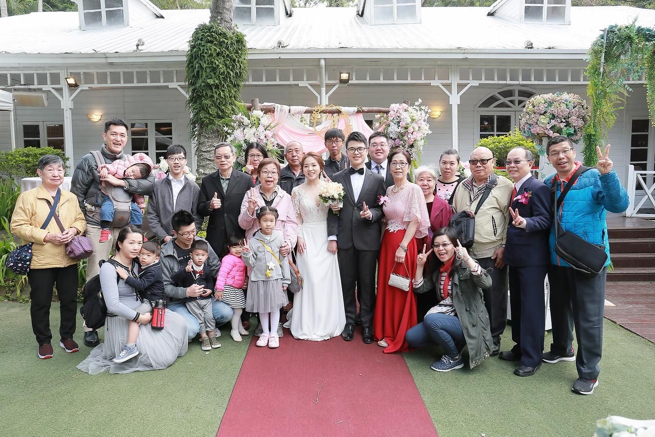 《臺北婚攝》早儀式午宴客 / 青青食尚花園闖關戶外婚禮證婚