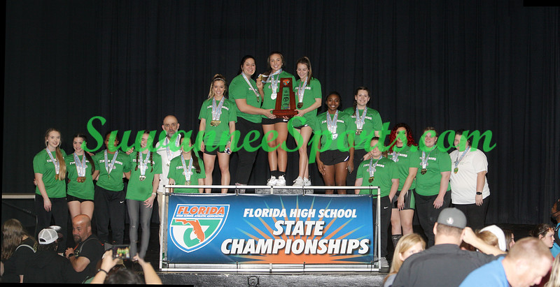 Suwannee / Branford - Weightlifting - Girls - 1A State Champion - Select Pictures
