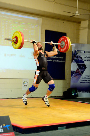 Easy 1st Clean n Jerk at 110kg