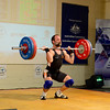 120kg Clean n Jerk attempt, almost had it.....