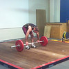 Cougar's Weightlifting Club Comp 25th Aug 2012<br /> Clean & Jerk attempt 1 @ 80kg