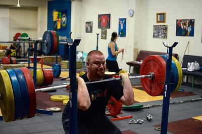 Cougars Training 25th Feb