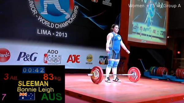Junior World Champs Peru 2013