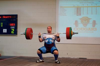 Cougar's Weightlifting Club Mike Keelan Shield 2012