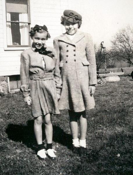 Dorothy (Pontius) Thompson; Phyllis (Pontius) Weiker