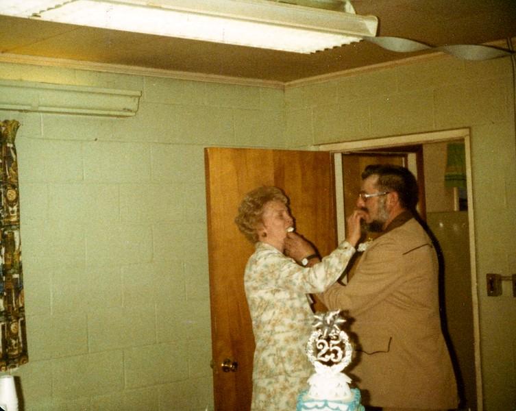 Phyllis Weiker and Carleton Weiker; 25th Wedding Anniversary