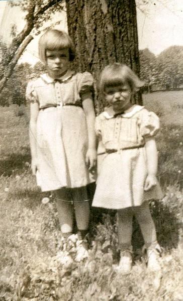 Phyllis (Pontius) Weiker; Dorothy (Pontius) Thompson