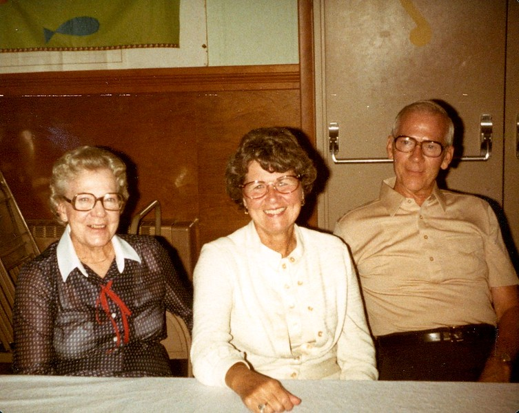 Milford Barrick - Cousin of Mildred Pontius (Right)