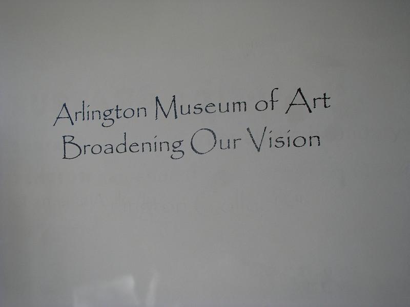 1. Arlington Art Museum