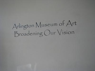Arlington Art Museum Opening November 08